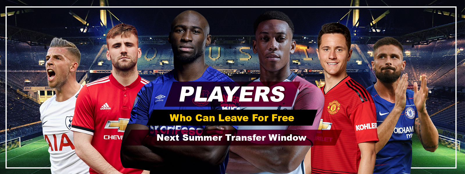 Players Who Can Leave For Free Next Summer Transfer Window