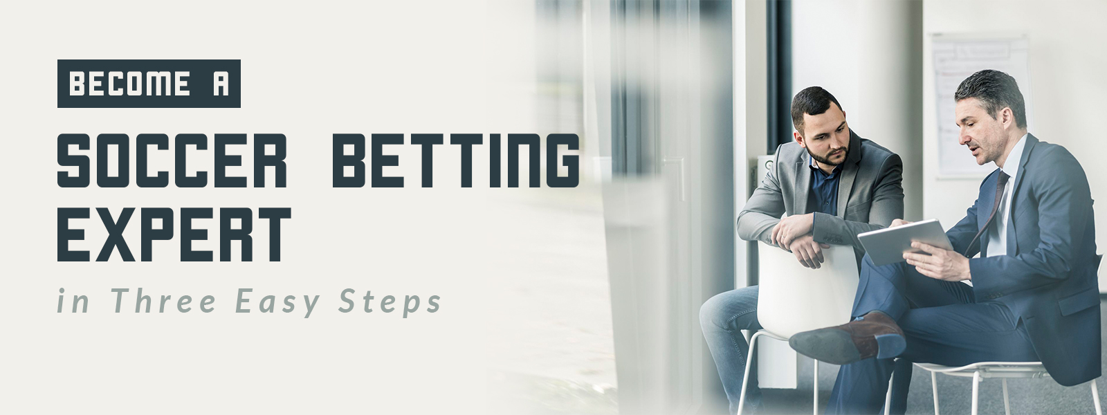 Become A Soccer Betting Expert In Three Easy Steps