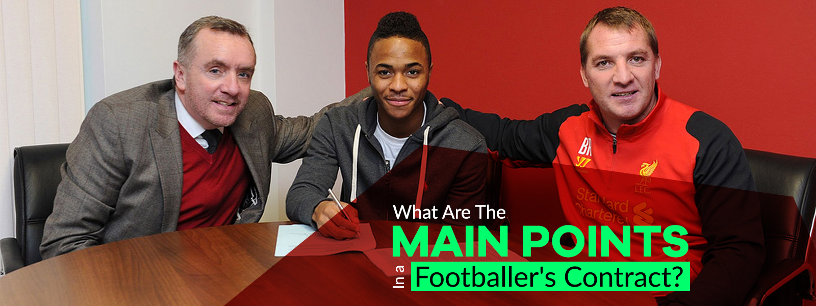 What Are The Main Points In A Footballer Contract?