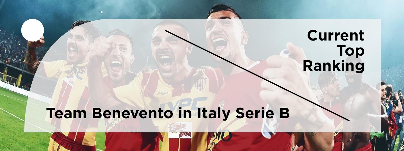 Top Ranking Team - Benevento Calcio In Italy Serie B 2020