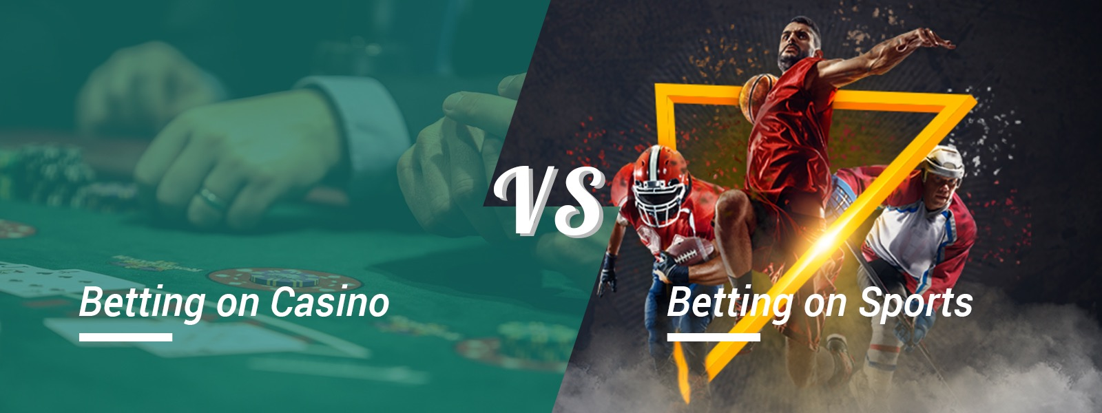 Which Do You Preferred? Betting On Casino Or Sports?