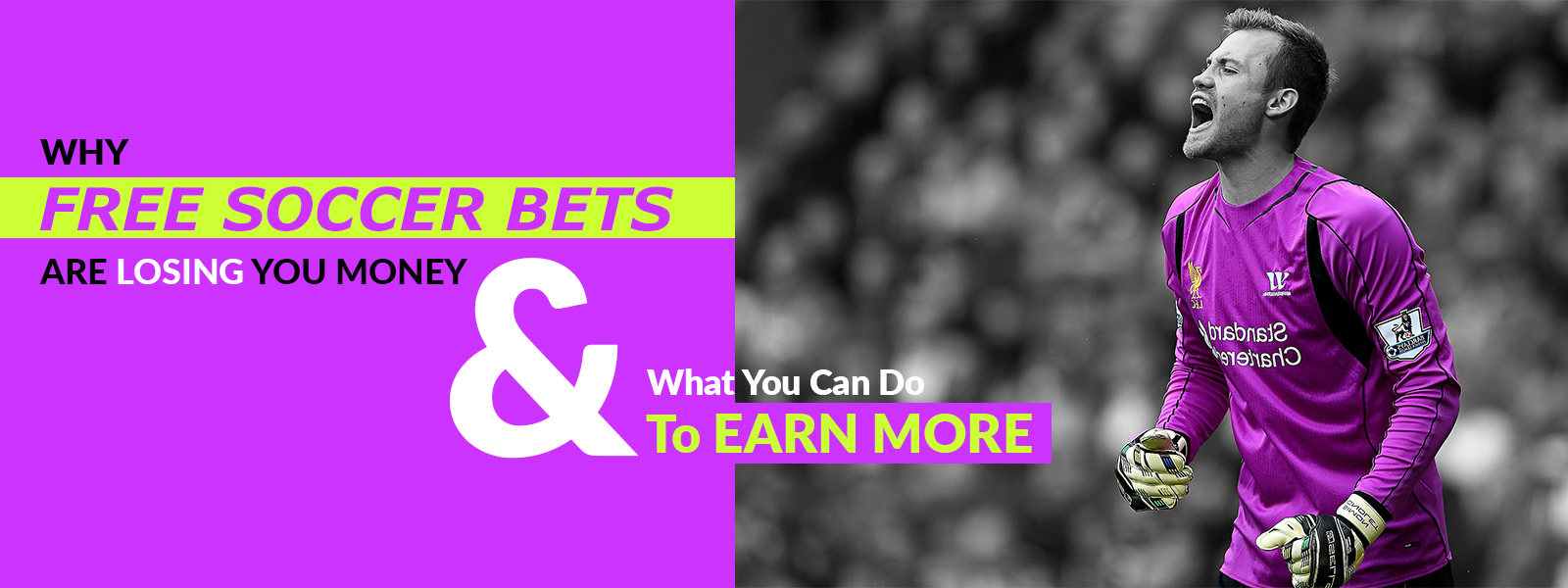 Free Soccer Bets Causing You To Lose More