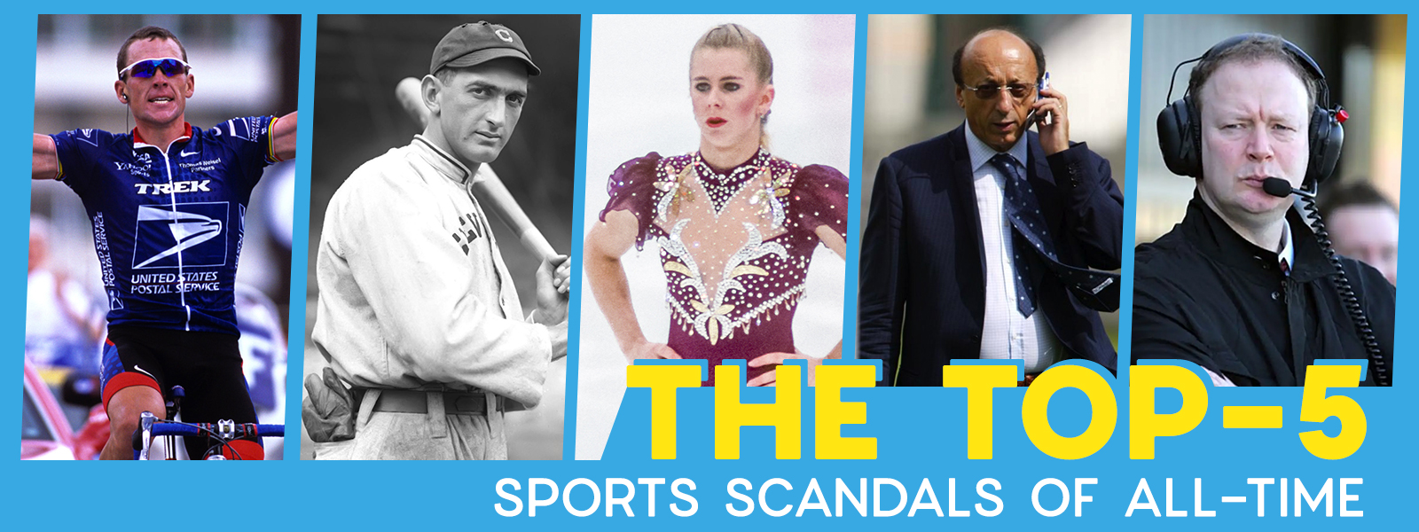 Top 5 Sports Scandals Of All Time